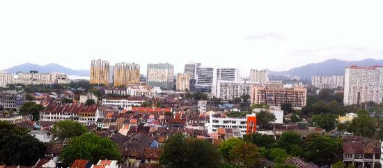 Hotel Jen Penang by Shangri-La: view from our window