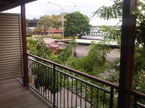 Mount Isa, Australien: View from the deck