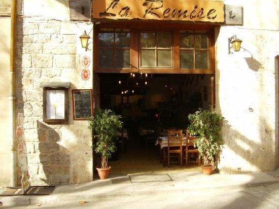 Tourves, Frankrijk: le resto