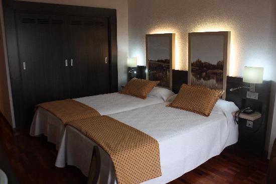 Hotel Santa Cecilia: Doble twin standard