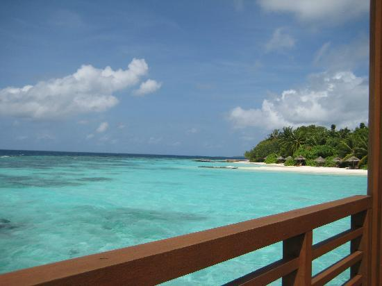 Baros Maldives: View from our water villa