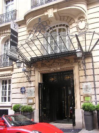 Champs Elysees Plaza Hotel: Façade