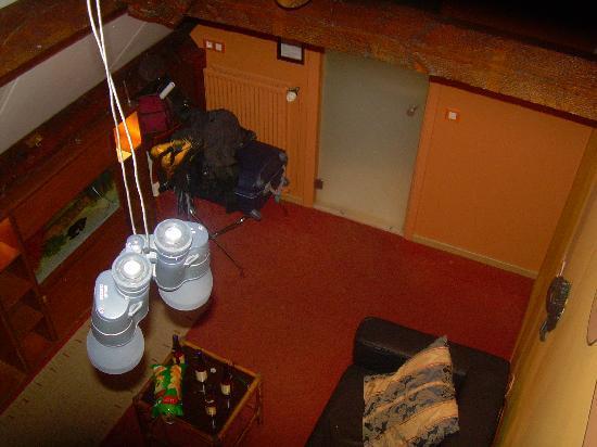 Hotel Salvators: vistas desde la cama