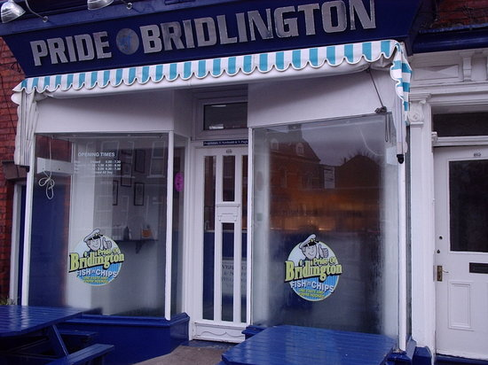 Pride Of Bridlington: '5 Star Quality Award' Winning Fish and Chips.