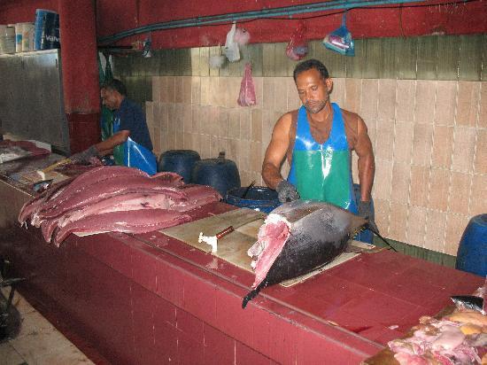 Male fish market for Empire fish market