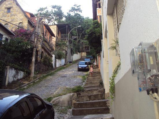 Rio Backpackers : O morro...