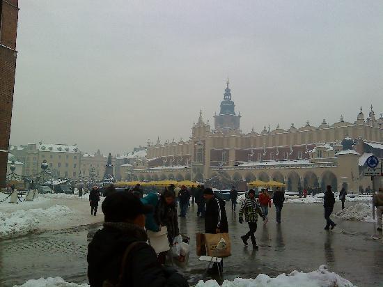 Hotel Amadeus : Rynek Glowny in the snow