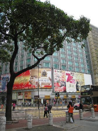 Park Hotel Hong Kong: Außenansicht vom Hotel