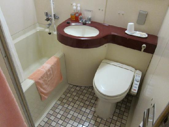 Hotel Alpha-1 Jouetsu: 浴室・トイレの状況