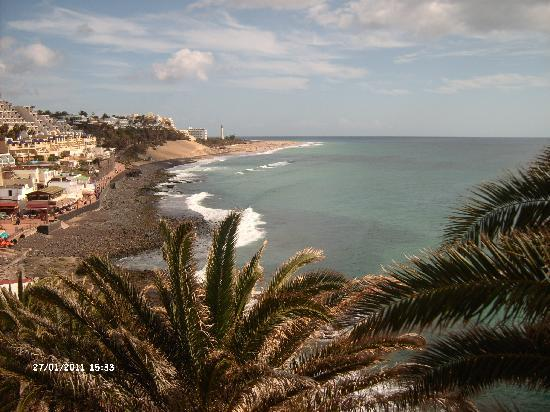 Sol Jandia Mar Aparthotel : View from Moro Jable
