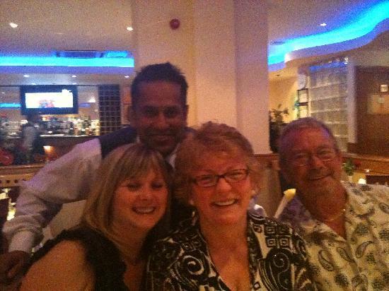 Sipson Tandoori Indian Restaurant: Family at The Sipson