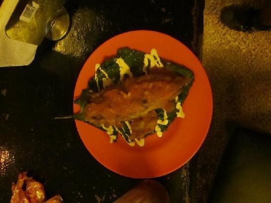 Chalupa Hostal: Chalupa's Chili relleno(gracias Adan)