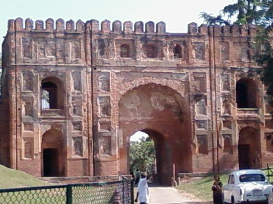 Malda, India: Lukochuri Gate