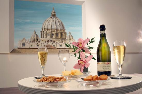 Rome ApartHotel : Servizio