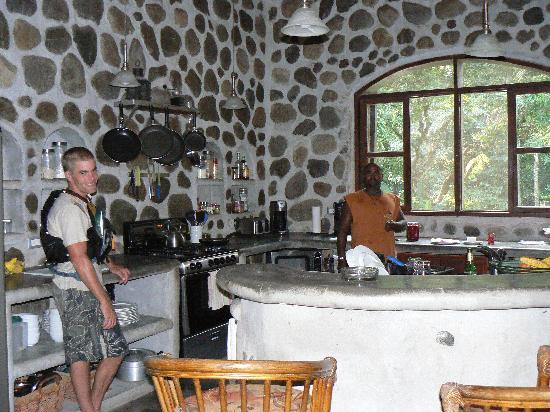Casa Cangrejal B&B Hotel: beautiful kitchen