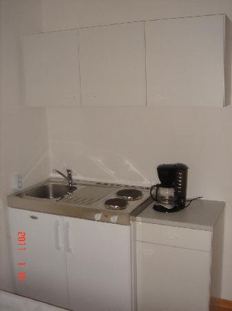 Villa Temmel: Küche Studio 4