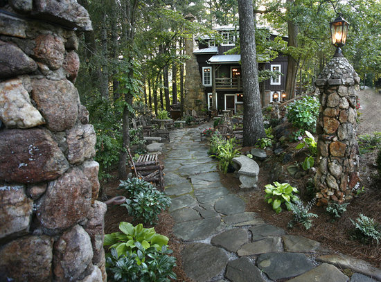 Lakemont, จอร์เจีย: Entrance to the Lake Rabun Hotel & Restaurant