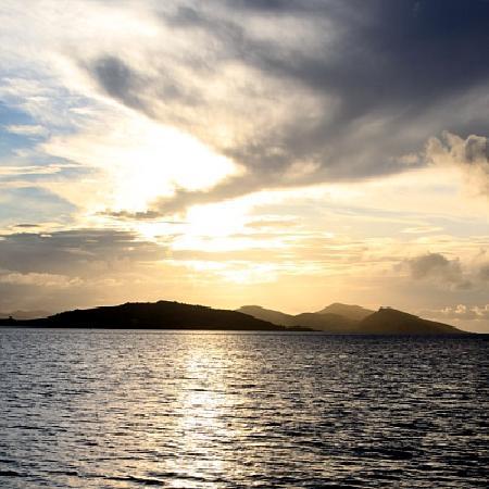 Safari Island Lodge: sunset