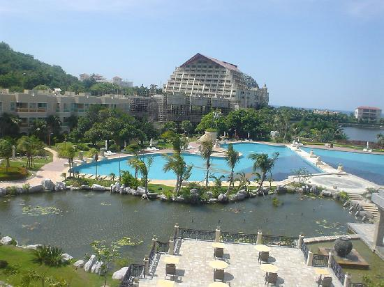 Cactus Resort Sanya by Gloria: view from the room
