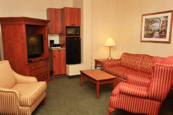 Hotel MTL EXPRESS Montreal Airport: Living Room suite