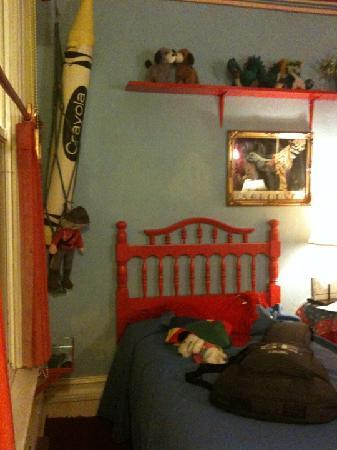 Red Victorian LLC: our room