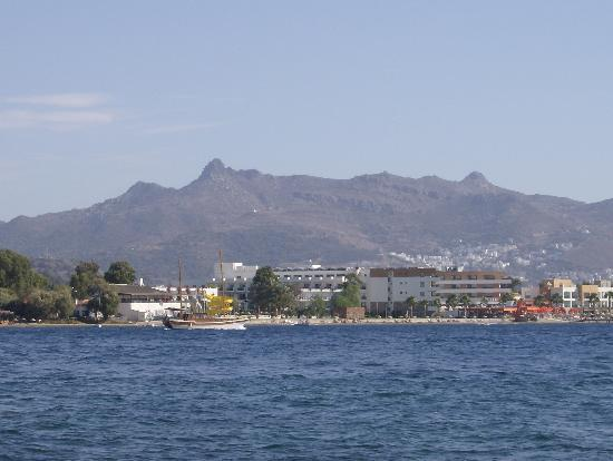 Turgutreis, Turquía: View from Boat