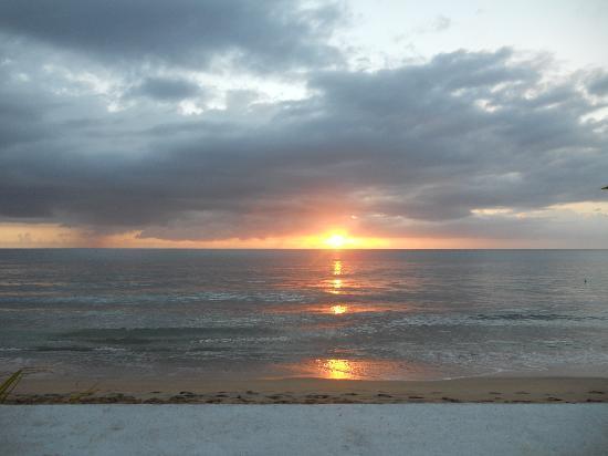 Coconut Palms Inn: sunset