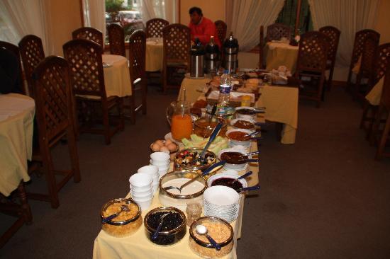 Hosteria Angelina: Frühstücksbuffet