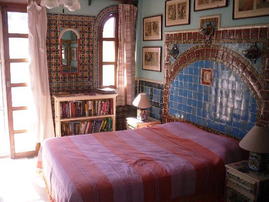 Studios Tabachin del Puerto : Моя кровать в номере на 2 этаже