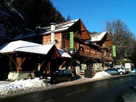Le Vert Hotel: Le Vert snowed-up