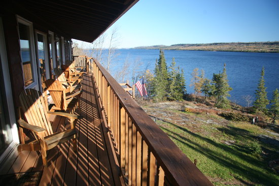Cross River Lodge: View from the lodge suites deck