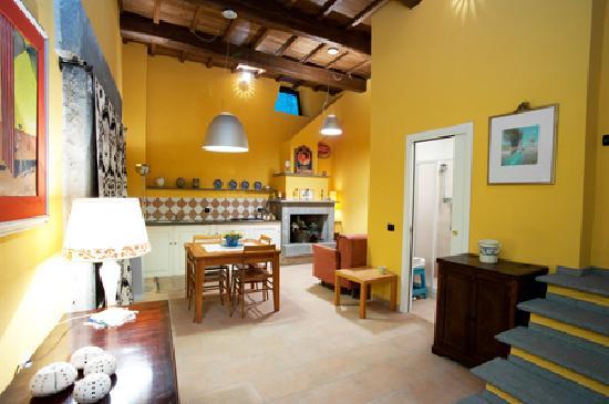 Bagnoregio, Włochy: Lemon Room