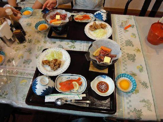 Hotel Mount Shiga: Another dinner. I took the photo before the hot soup arrived