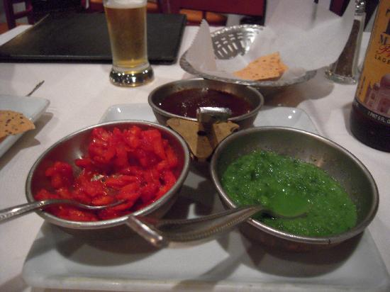 Saffron : Each table gets this awesome starter