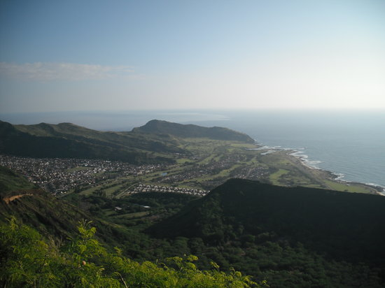 Honolulu, HI: View from the top