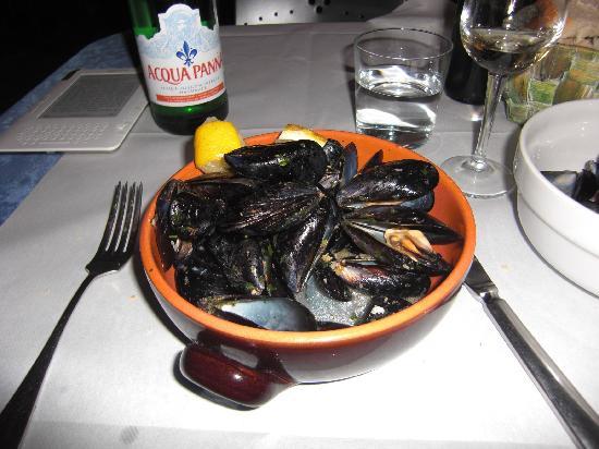 Ristorante Via Venti: Mussels mouleniere