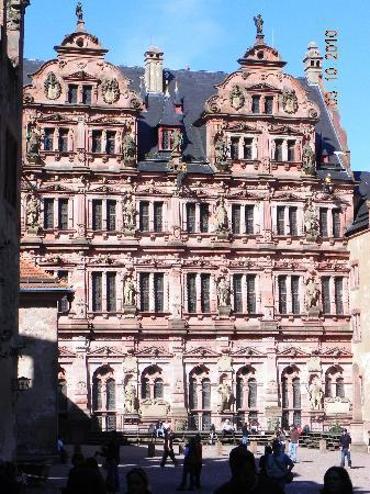Heidelberg, Duitsland: Castle architecture
