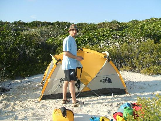 Great Exuma: Little Farmers Cay Camp Site