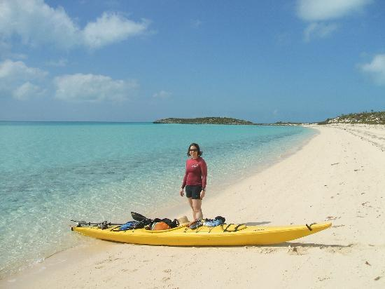 Great Exuma: White Point Beach on Great Guana Cay