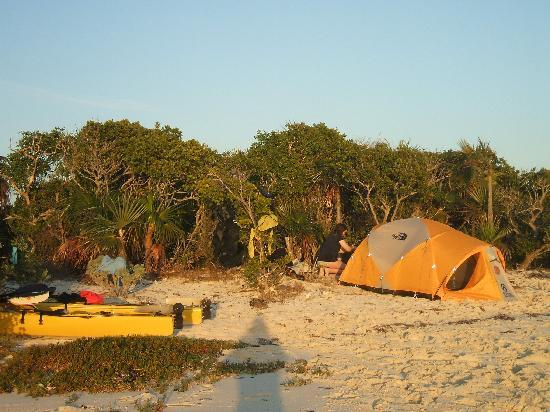 Great Exuma: Thomas Cay Camp Site