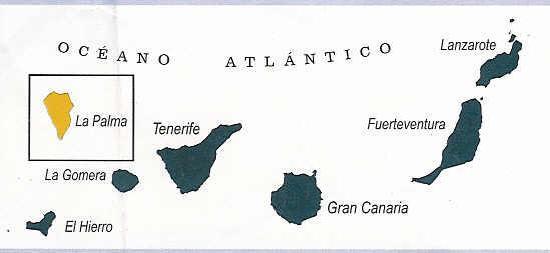 Mapa Islas Canarias Espana Fotografia De Sombrero Pico Casas Los