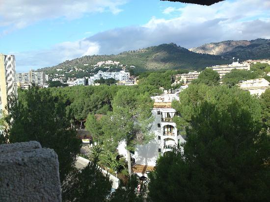 Palmira Beach: Blick vom Balkon