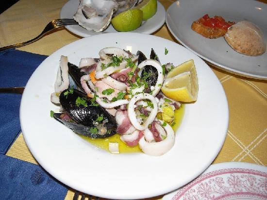 Il Siciliano Doc : The famous Seafood Salad