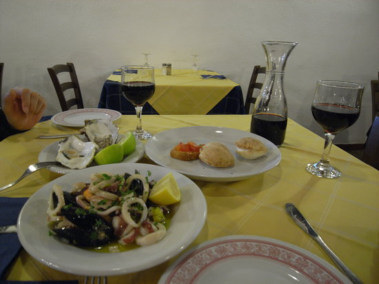 Il Siciliano Doc: Starters of our wonderful dinner