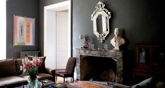 Chateau de Lartigolle : Petite salon