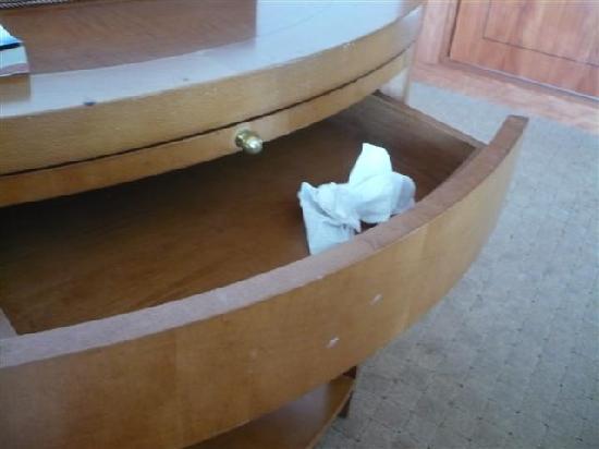 Crown Vista Hotel: Tissue in the drawel!? Eww...