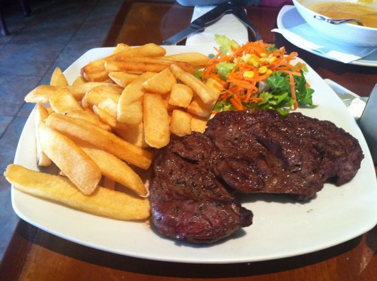 Paddy's Irish Bar-Eilat: Entrecote Steak and Fries from 89NIS menu