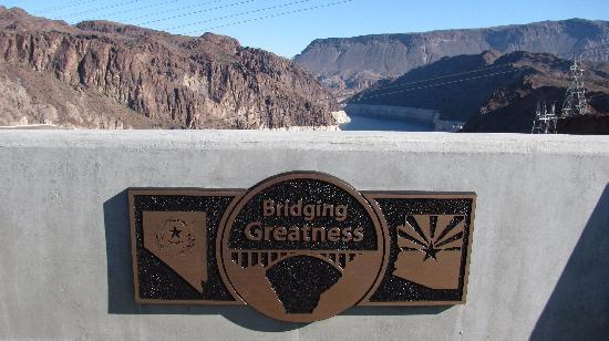 The State Line Picture Of Hoover Dam Bypass Las Vegas Tripadvisor
