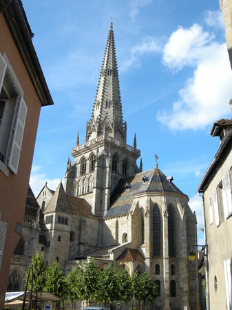 Autun, France: view from far