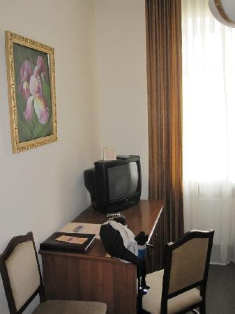 Grand Park Esil: Our tiny room.